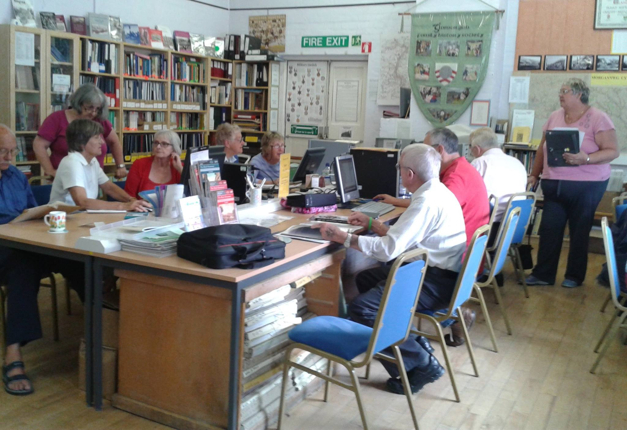 Aberkenfig Resource Centre - Research Help