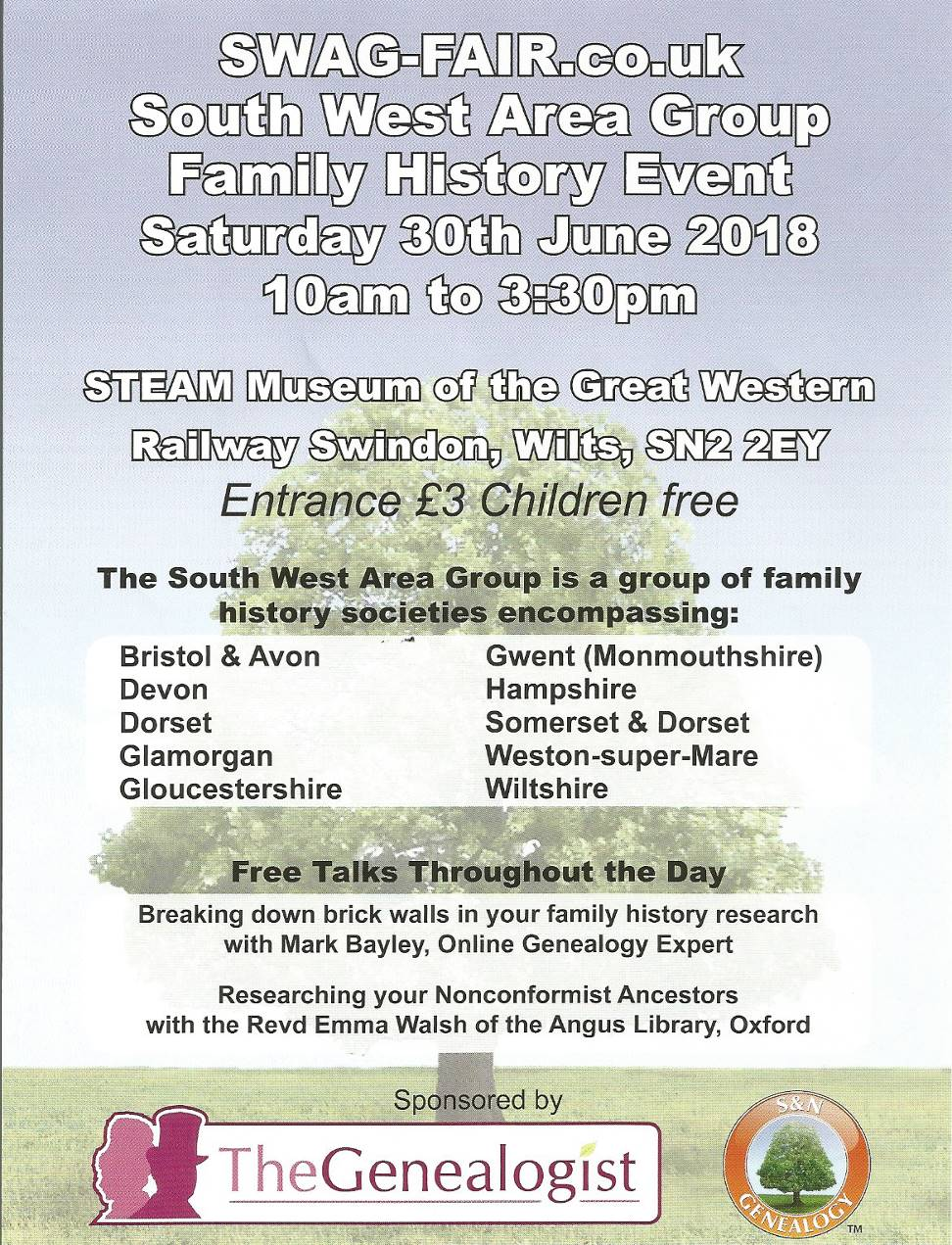 South West Area Group Fair - Saturday 30 June